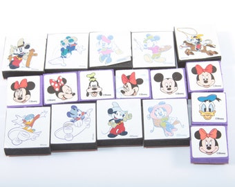 Mickey Mouse, Goofy, Walt Disney, Cartoon, Stamp Set, Stanpin Up, Vintage, Card Making, Nostalgia ~ SS011
