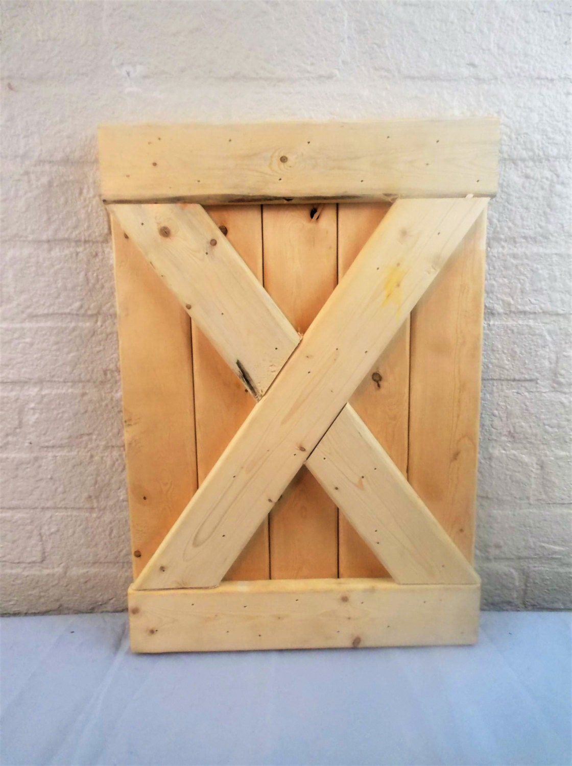 Small Rustic Barn Door Wall Decor