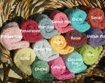 Set of Seven...Cheesecloth Photography Props...3x6...Over 75 Colors...Newborn Props...Baby Cheesecloth Wraps...Cheesecloth Wraps