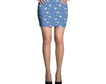 Border Collie Mini Skirt