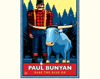 Landmark MN | Paul Bunyan Summer by Mark Herman