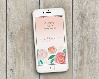 iPhone Wallpaper, Phone Wallpaper, Phone Background, Personalized Wallpaper, Personalized Download, Personalized iPhone Wallpaper