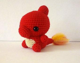 Charmeleon Crochet Plushie