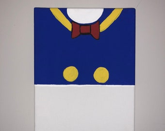 Donal Duck Canvas