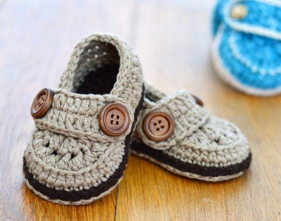 Crochet Pattern Baby Shoes Baby Loafers Easy Crochet Pattern