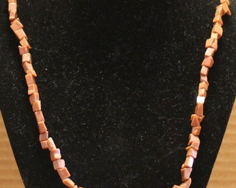 Brown Goldstone Chipped Stone Necklace
