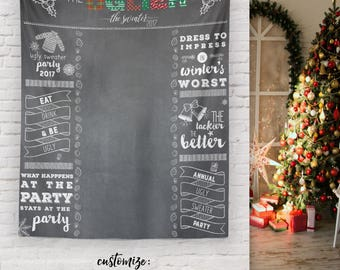 Ugly Christmas Sweater Party, Ugly Sweater Party Photo Booth Props, Holiday Ugly Sweater Party, Ugly Sweater Banner / C-T06-TP REG1 AA3
