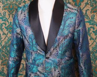 Famous Silk Brocade Dinner Jackets---Custom Made--Decadence'89
