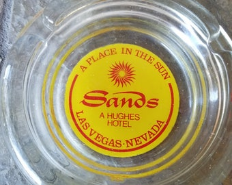 Vintage Sands Casino Ashtray  A Place In The Sun Las Vegas Nevada