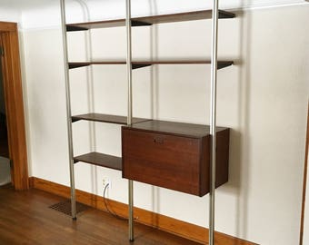 SOLD - George Nelson Omni System Wall Unit