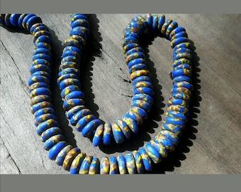 134 4207 Ghana Krobo beads necklace