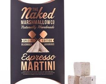 Espresso Martini Gourmet Marshmallows - Boozy gifts - Gifts for her - Bridesmaid gift - Gourmet