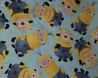 Custom  Minions Diaper you choose type and size Nb/Sm or Onesize