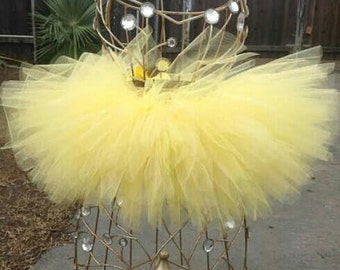 Baby Yellow Tutu Skirt