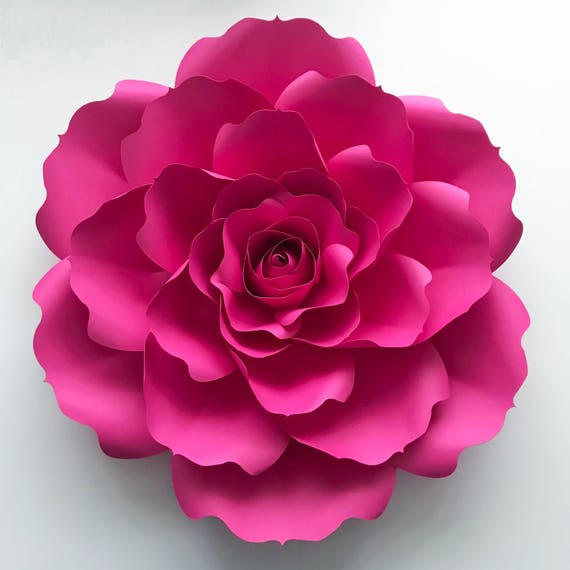 Paper flowers svg petal 31 2 types of rose centers paper mightylinksfo