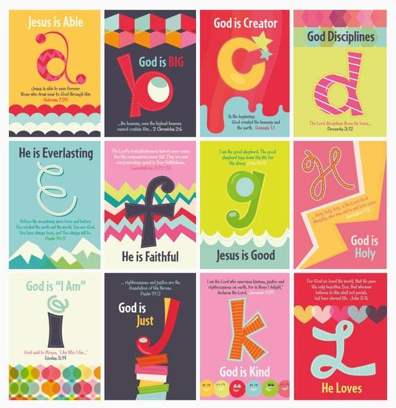 Letter Craft Cards