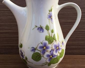 Porcelain jug - Vintage 60's röslau Bavaria - Porcelain jug röslau Bavaria - Bavaria porcelain - Bavaria porcelain jug