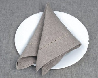Linen 4 Napkins, Linen Napkins, Red Linen Napkins, Table Decoration, Dining Table Napkins, Christmas Gift