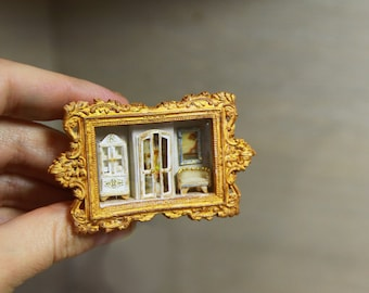 Dollhouse Miniature RoomBox 1/12