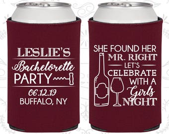She found her Mr Right, Bachelorette Decor, Lets Celebrate with a girls night, Bachelorette Favors (60180)