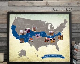 custom usa road trip map usa travel map long distance love map custom