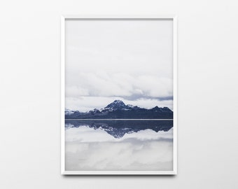 Landscape Print, Landscape Wall Art, Minimalist Print, Mountain Photo, Mountain Print, Mountain Wall Art, Nature Print, Nature Wall Art