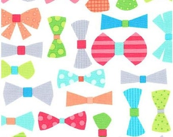 Spring Bow Ties From Robert Kaufman's This and That Collection by Ann Kelle
