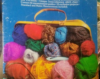 1975 Boye I Taught Myself to Crochet Book
