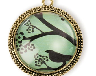Raven Pendant (STEAM198)