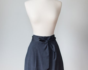 S&D Pleated Skirt With Belt