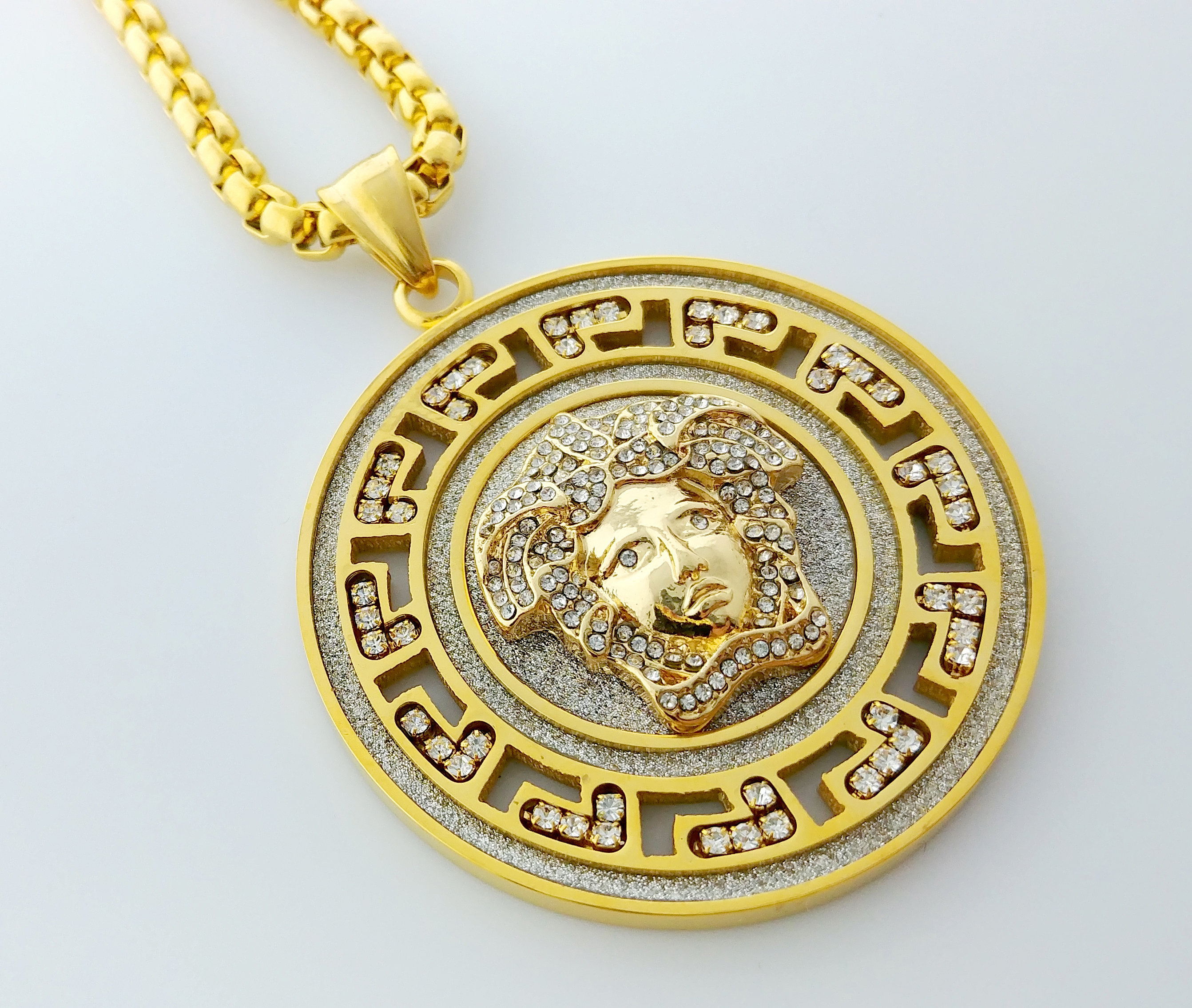 medallion fullxfull sg zoom gold coin necklace listing round turkish il en pendant