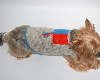 Dog Sweater - Sandy with Tassles