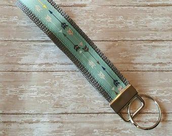 Arrow Key Fob - Arrow Keychain - Arrow Key Wristlet - FREE SHIPPING