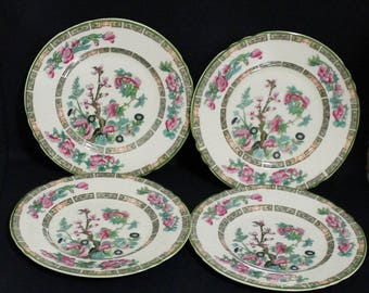 Myott Staffordshire INDIAN TREE Bread and Butter Plates - Set of Four