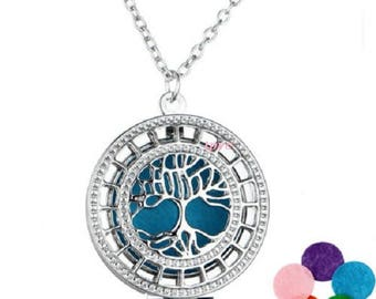 Pendant necklace Locket aromatherapy perfume oil