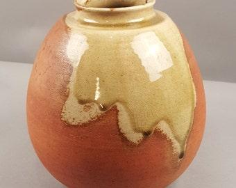 SALE Large Vintage Japanese Japan Shigaraki Ware Vase Hanaire Chabana Tea Ceremony Chanoyu Sen No Rikyu Takeno Joo Wabi-Cha, Showa Period