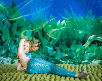 Laying Mermaid