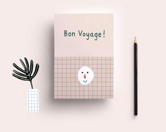 Postcard» Bon voyage»