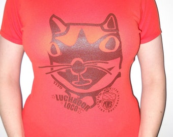 Mexican Wrestling Squirrels Tito T-shirt (adult/teen size SMALL)