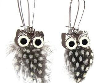 Handcrafted Owl Earrings