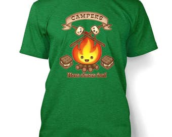 S'more Fun men's t-shirt