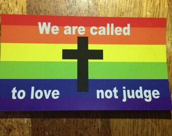 Gay Friendly, Rainbow Magnet, LGBTQ