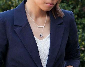 Aimeé - Gemstone Cluster Necklace