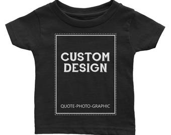 Personalized Infant Cotton Jersey Tee