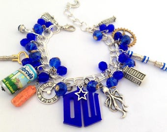 Dr Who Charm Bracelet ~Time Lord~Whovian