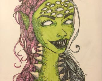 Bunhead Alien