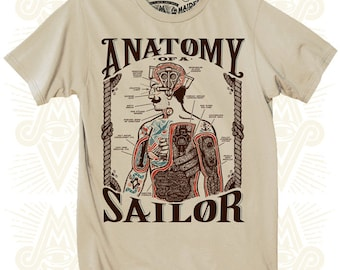 Anatomy of a Sailor Tee (Gents)
