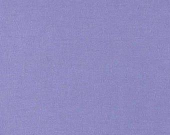 Tissu coton uni bleu bleuet