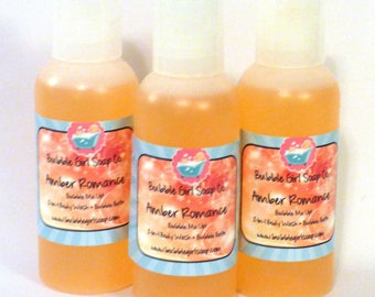 Amber Romance Body Wash Bubble Bath Shower Gel 2 Oz. Travel Size