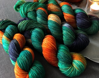 Brave Hand Dyed Sock Yarn